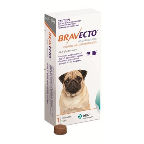 chewable flea and tick for dogs bravecto flea and tick chew for small 4 5 10kg petbarn