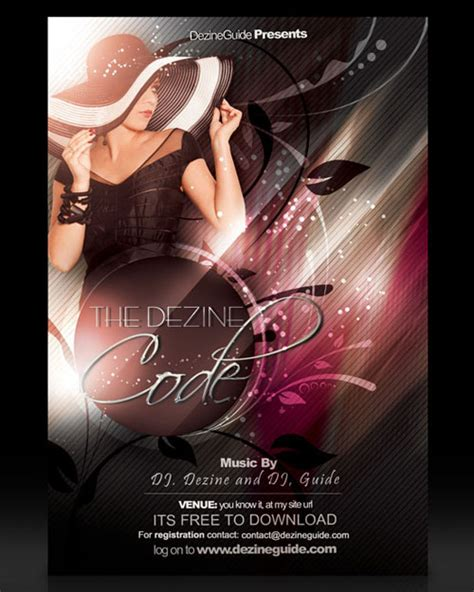 18 Free Photoshop Psd Club Party Poster And Flyer Templates Designfreebies Flyer Templates Photoshop