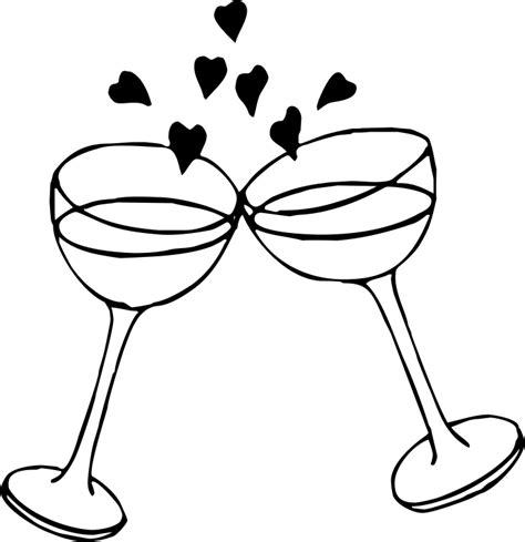 Wedding Glasses Clipart by Wedding Toast Clipart Jaxstorm Realverse Us