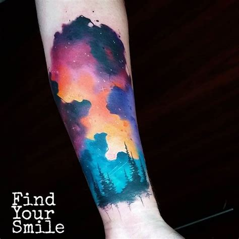 watercolor tattoo dresden 19 best galaxy images on ideas