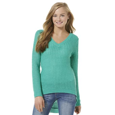 knit sweaters for juniors bongo junior s open knit sweater