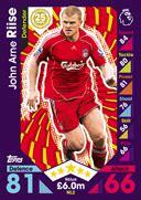 Arne Riise Corinthian Microstars match attax 2017 football trading cards