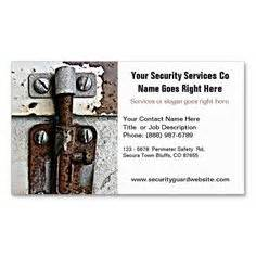 security business cards templates 1000 images about security guard business cards on