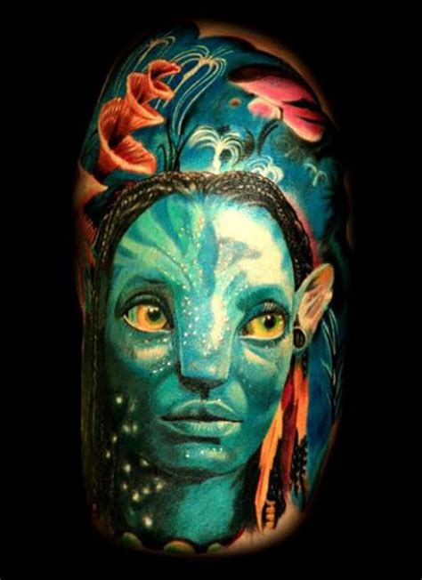 36 awesome avatar tattoos tattooblend