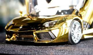 Gold Lamborghini In Dubai Pictures Dh27 5 Million Gold Lamborghini Model In Dubai