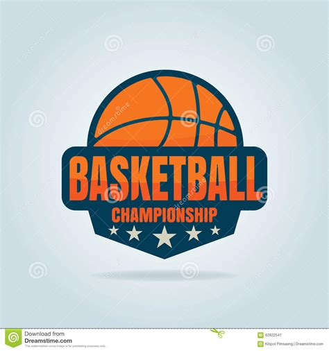 Basketball Logo Template Stock Vector Image 62822541 Basketball Team Logo Template