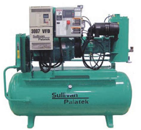 sullivan palatek 460 volt odp variable frequency drive vfd 30 hp air compressor