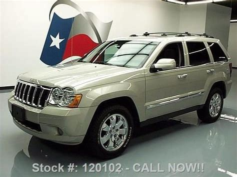 find used 2010 jeep grand ltd 4x4 hemi sunroof