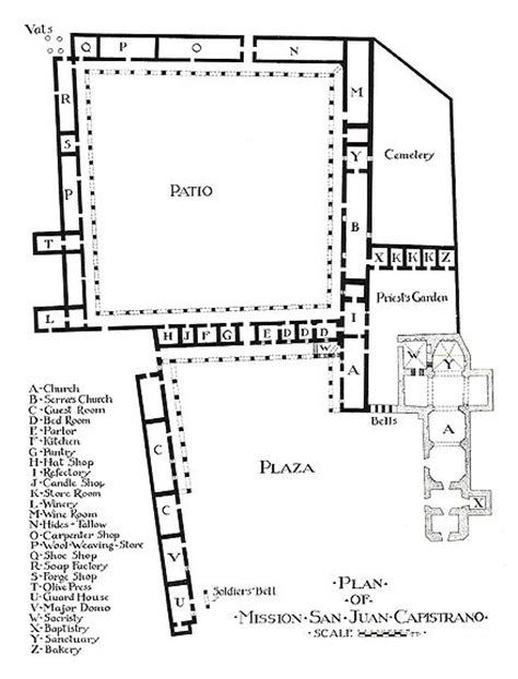 mission san juan capistrano floor plans 171 unique house plans