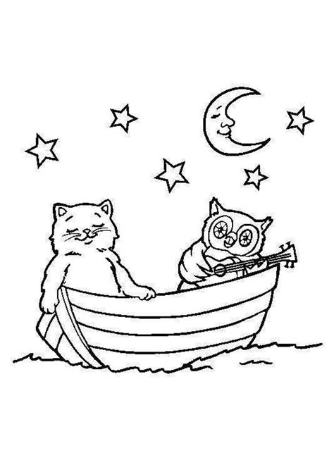 owl moon coloring page owl moon coloring page kids coloring page gallery
