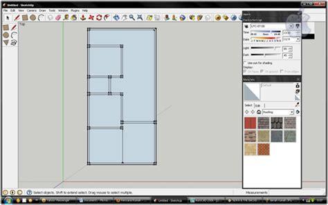 tutorial gambar rumah dengan sketchup tutorial artikel tik 187 design rumah 3d dengan google