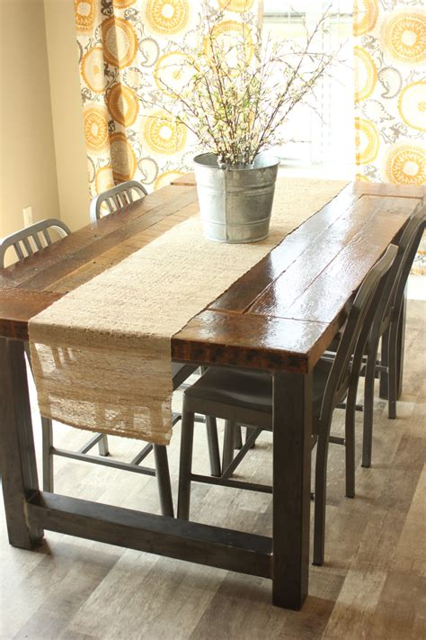 industrial dining room table dining room table industrial rustic barnwood farmhouse