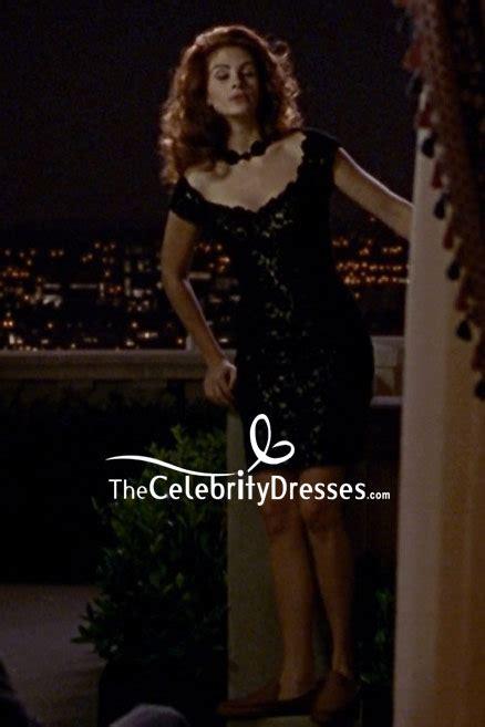 julia roberts schwarzer spitze cocktailkleid im film