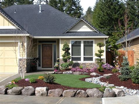 backyard ranch landscaping ideas front yard ranch style home the garden
