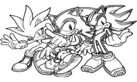 silver the hedgehog coloring pages sonic generations