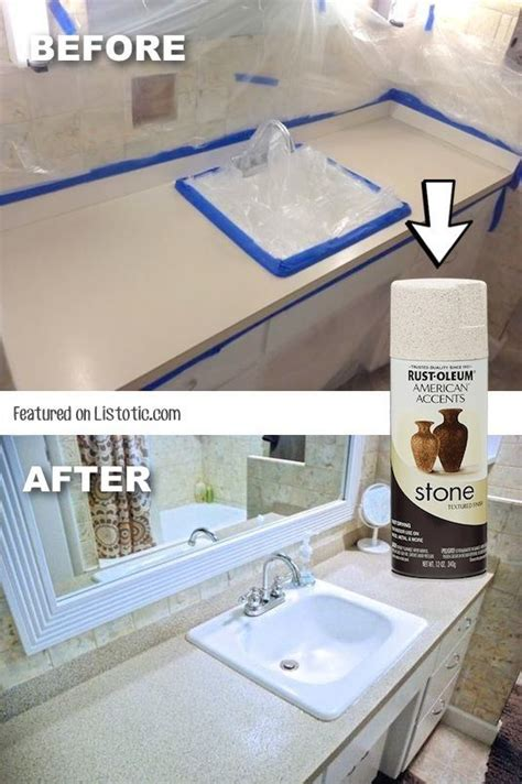 How To Rejuvenate Laminate Countertop by 1000 Ideas About Spray Paint Countertops On Paint Countertops Countertops And