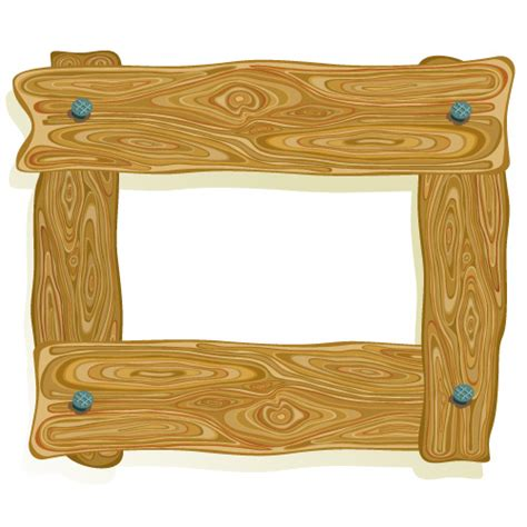 wood border wood clip wood wooden frame clipart clipground