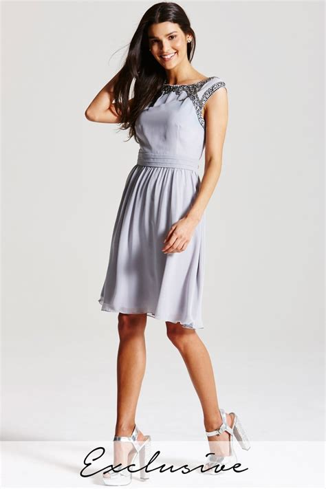 Embellished And Bejewelled Tops And Dresses by Grey Embellished Top Dress