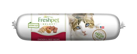 freshpet food reviews freshpet freshpet 174 select chicken beef cat food recipe