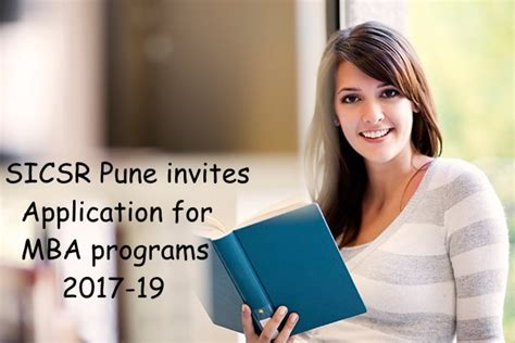 Mba Programs Starting In January 2017 In India by Apply For Mba Programs 2017 19 In Sicsr Pune
