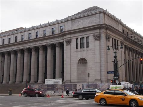 New York Post Office by Front Exterior Of The A Farley Post Office Picture