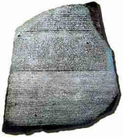 rosetta stone how long egyptian hieroglyphics