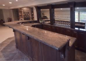 custom nj home bar trade design build