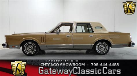 1982 lincoln continental vi 1982 lincoln continental vi gateway classic cars