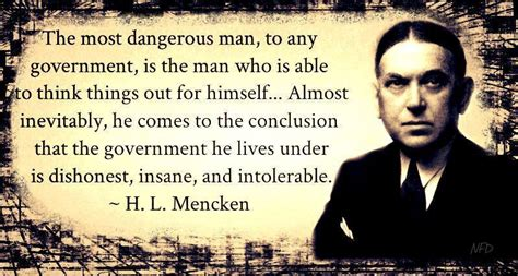 Quote Of The Day Hl Mencken by H L Mencken A Quote K Pinckney