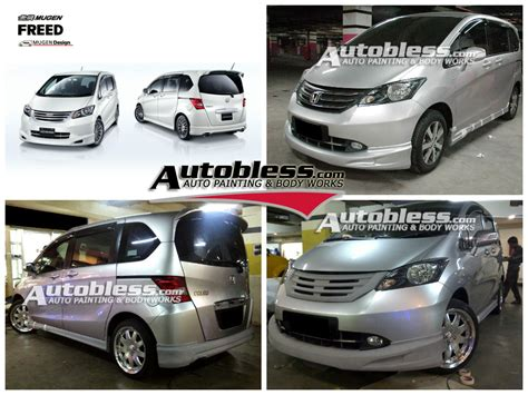 Bodykit Honda Freed Mmc Mugen V 2 Plastik Abs Grade B baru bodykit accessories honda freed autobless