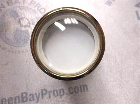 boat gauge blank bl9683a new faria marine boat dash blank gauge white gold