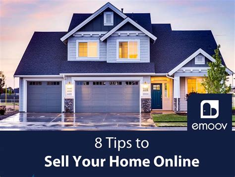 sell a house online 8 tips to sell your home online infographic