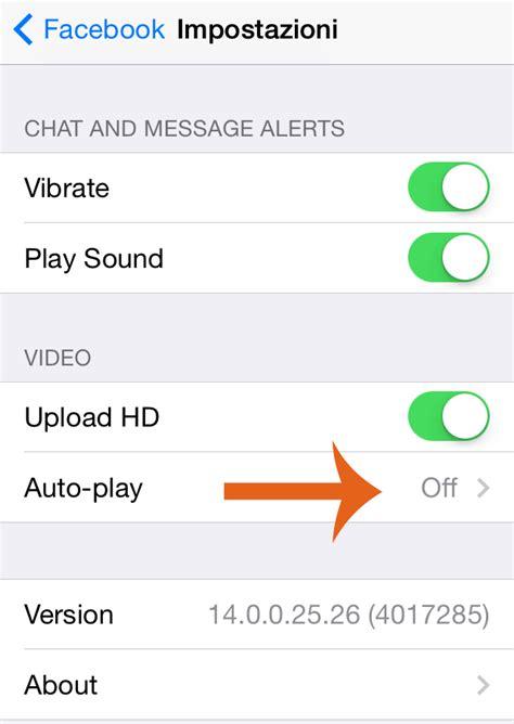 disattivare mobile play come disabilitare la riproduzione automatica dei su