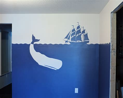 easy wall murals playroom silhouette mural teal and lime by jackie hernandez