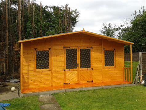 large summer house storage shed