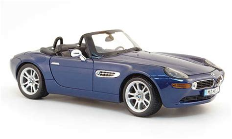 maisto bmw z8 bmw z8 blue avec licht und sound maisto diecast model car