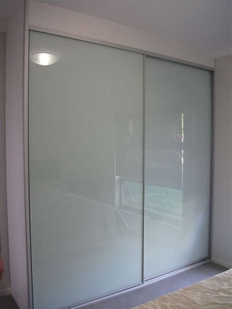 Frosted Glass Wardrobe Doors by Built In Wardrobes Guilford Nsw Modern Design Wardrobes