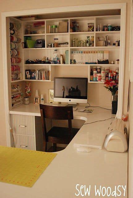 craft room in a closet craft closet room home sweet home