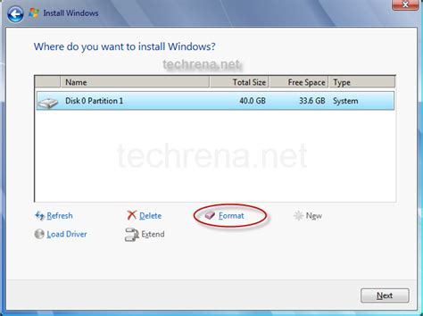 format hard drive and install windows 7 how to install windows 7 ultimate professional home