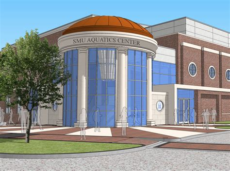 dallas mustangs swim team smu to ground on new aquatics center for s and