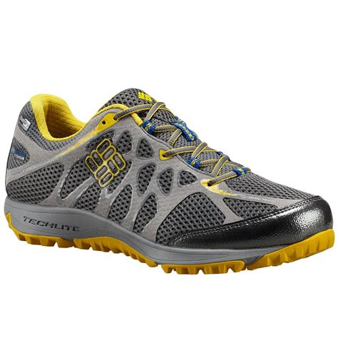 columbia running shoes columbia conspiracy titanium outdry trail running shoe