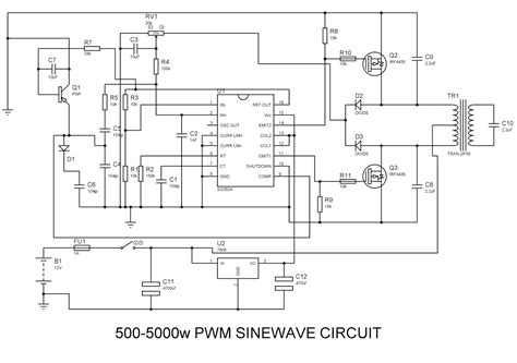 500 w inverter circuit diagram wiring diagram with