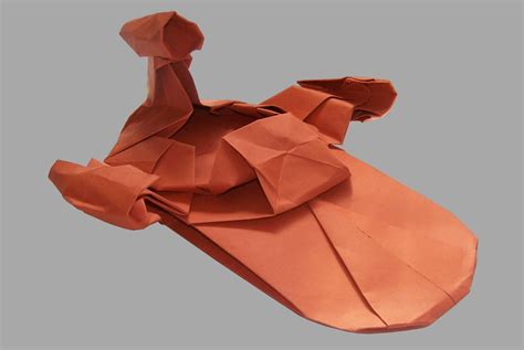 Origami Vehicles - wars origami episode i vehicles and vessels