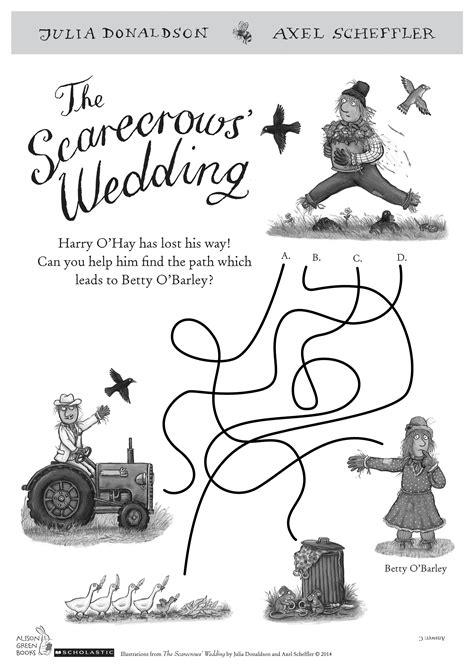 The Scarecrows? Wedding maze   Scholastic Book Club