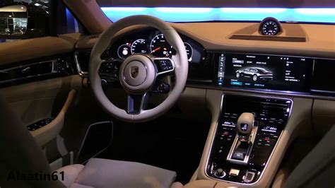 porsche panamera 2017 interior youtube
