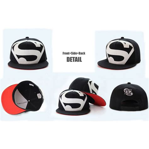 Topi Snapback Yogs 31 topi superman hip hop snapback caps hats unisex black jakartanotebook