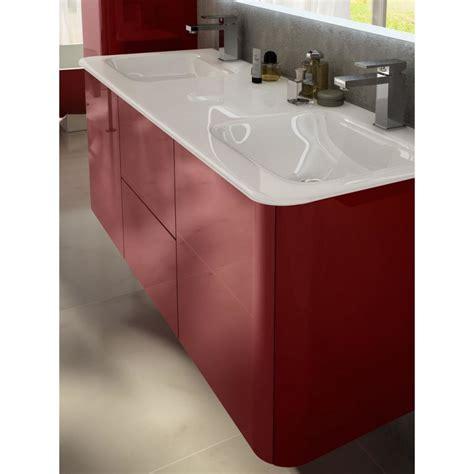 Mobile Bagno Rosso by Baden Haus Mobile Da Bagno Sospeso 140 Cm Liverpool Rosso