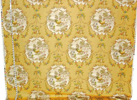 farmhouse home decor fabric yellow rooster toile fabric country p kaufmann