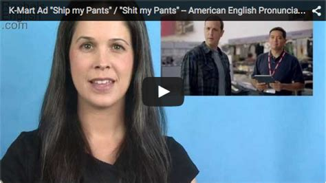 ship my pants k mart ad quot ship my pants quot quot shit my pants quot rachel s english