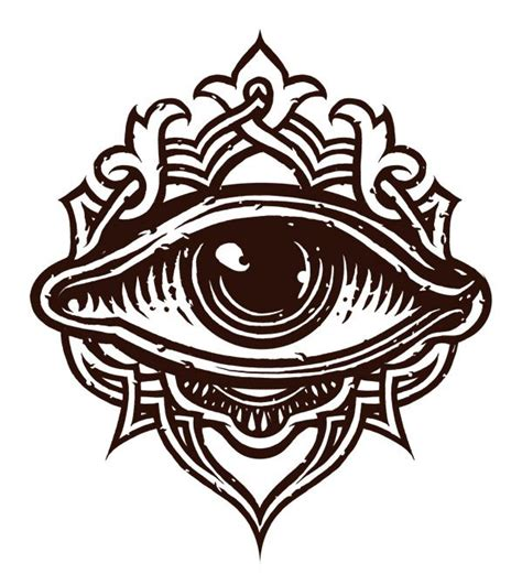 best 10 third eye tattoos ideas on pinterest